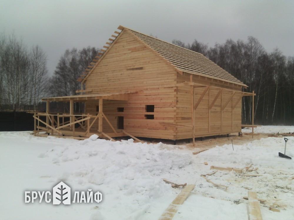 Отзыв о строительстве дома из бруса Московская обл., Подольский р-н